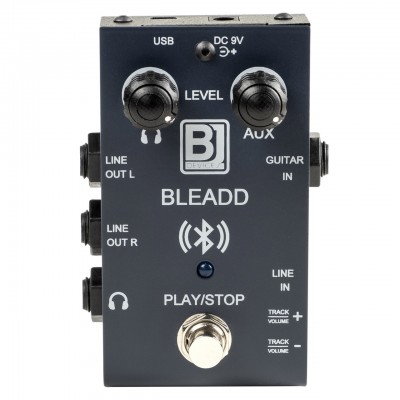 BLE.ADD - Bluetooth / USB / AUX player and headphone amplifier